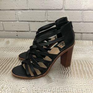 Dolce Vita Women's Franney Black Sandals